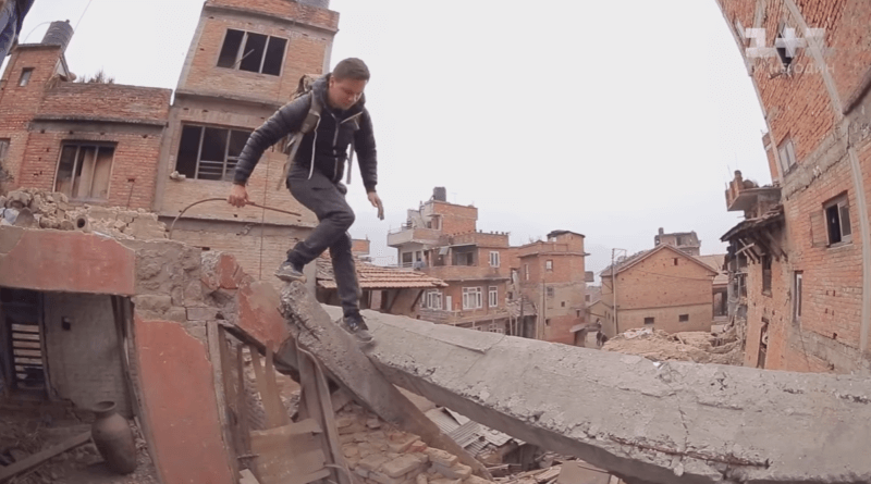 Жизнь среди руин и хаоса