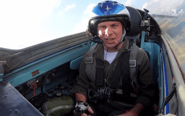 Полет Дмитрия Комарова