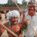 Серия 27 Бразилия — Праздник Яномами в честь поминок и рыбалка в джунглях