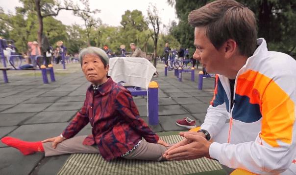 Серия 3 Китай — Утренние зарядки в Китае и традиционная китайская медицина