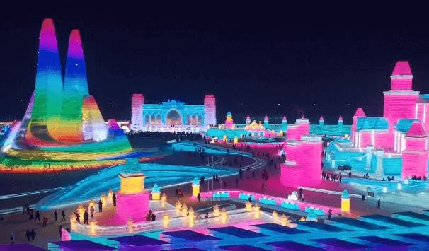 Серия 4 Китай — Как добывают лед для Харбинского ледяного фестиваля