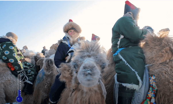 Серия 27 Китай — Зимний фестиваль Наадам и гонки на северных верблюдах