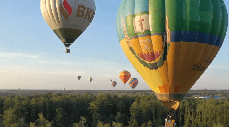 фестиваль воздухоплавания под Киевом